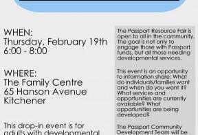 Passport Resource Information Fair