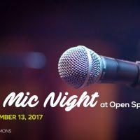 Open Mic Night at Open Space – Kitchener thumbnail