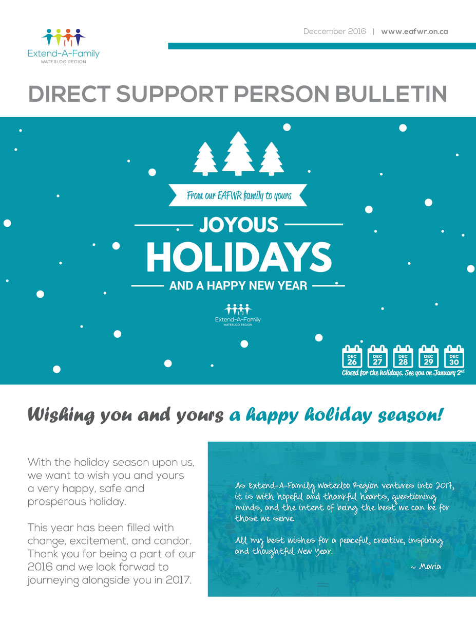 dsp bulletin 2016, disability, direct support