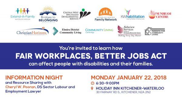 Info Night: Bill 148 – Fair Workplaces, Better Jobs Act thumbnail