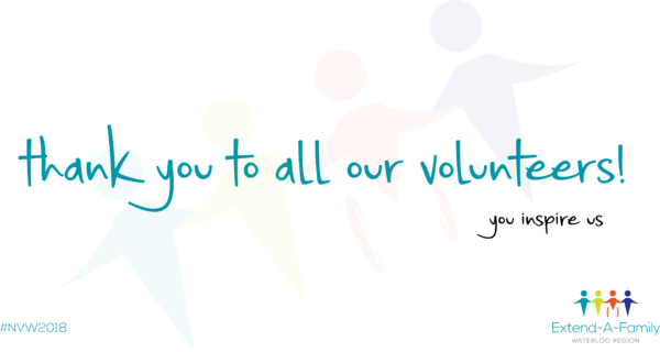 thank you to all our volunteers! you inspire us.