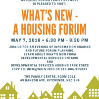 You are invited to What's New – A Housing Forum thumbnail