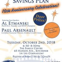 You are invited to Registered Disability Savings Plan (RDSP) 10th Anniversary Celebration & Info Night thumbnail