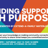 Providing Support with Purpose', a conference presented by Extend-A-Family Waterloo Region thumbnail