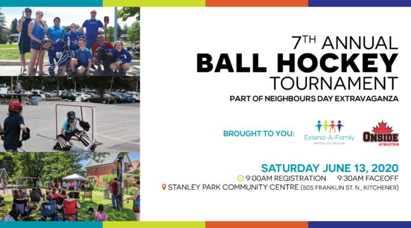 SAVE THE DATE: 7th Annual Ball Hockey Tournament at Neighbour's Day Extravaganza thumbnail
